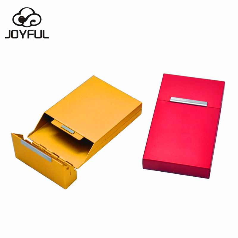 Smoking Accessories Metal Cigarette Box Lady Cigarette Box Cigarette Case tobacco box